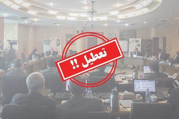 جلسه فوق العاده شورای شهر کرج با غیبت گروه اقلیت تعطیل شد