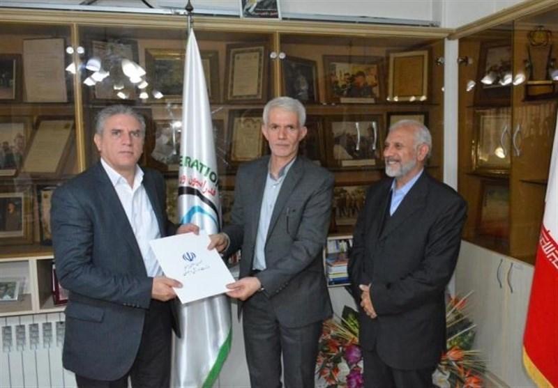 برگزاری مراسم تودیع و معارفه سرپرست فدراسیون سه گانه