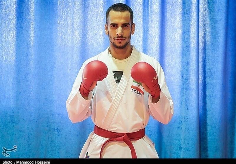 هامون درفشی پور: دنبال مدال طلای کاراته هستم و کوتاه نمی آیم، امیدوارم بهتر از گذشته نتیجه بگیریم