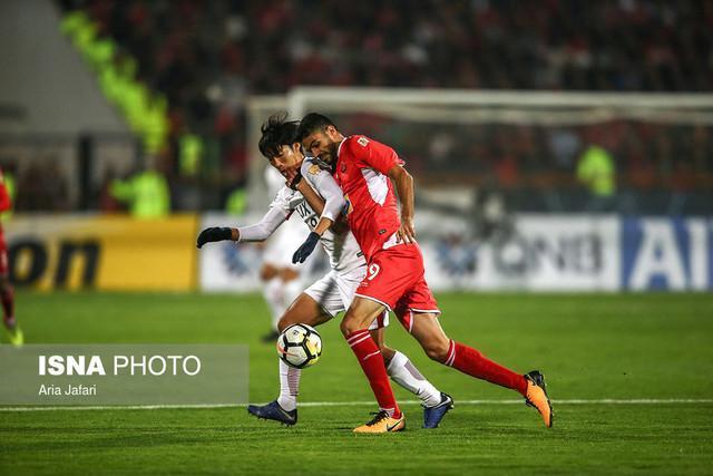 سمفونی آه و افسوس در نیمه نخست، درگیری بازیکنان در نطفه خفه شد