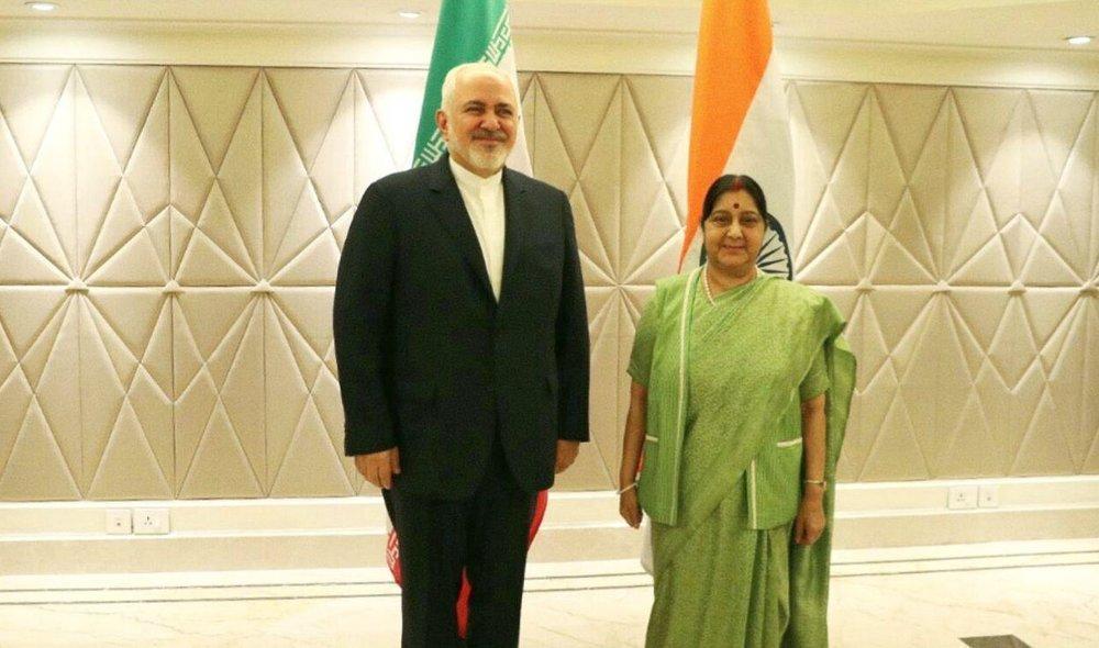 فیلم ، دیدار ظریف با همتای هندی