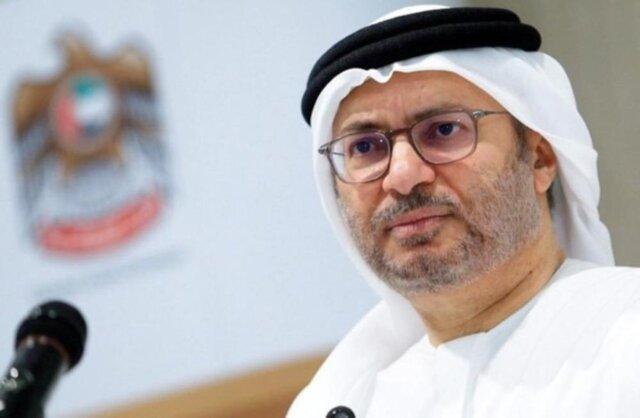 تاکید وزیر اماراتی بر لزوم حل و فصل سیاسی تنش ها در خلیج فارس