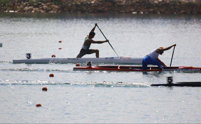 قایقرانی آب های آرام قهرمانی دنیا، نبی رضایی فینالیست شد