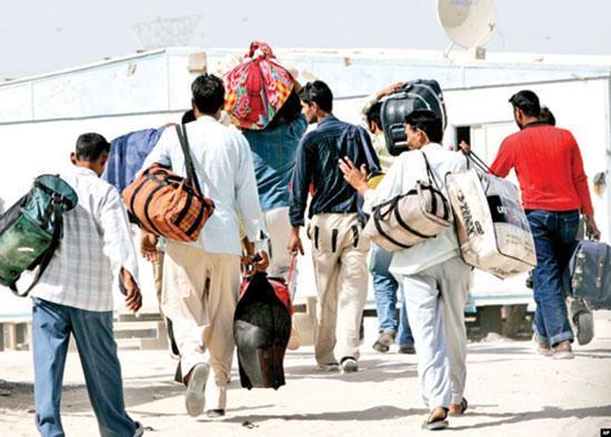 جوانانی که برای کارگری به عراق می روند...