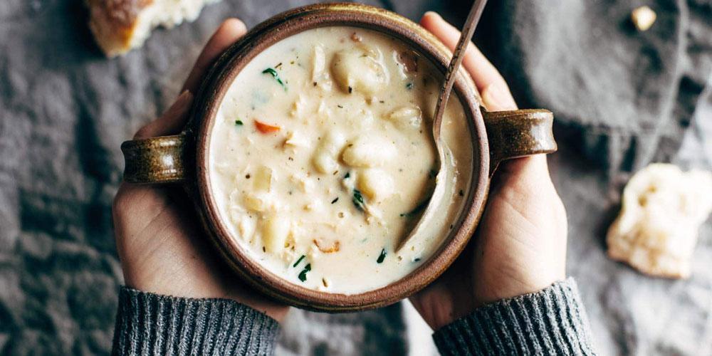 طرز تهیه سوپ خامه به دو روش