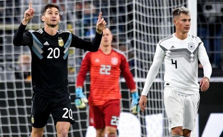 تساوی آلمان و آرژانتین در دیداری محبت آمیز