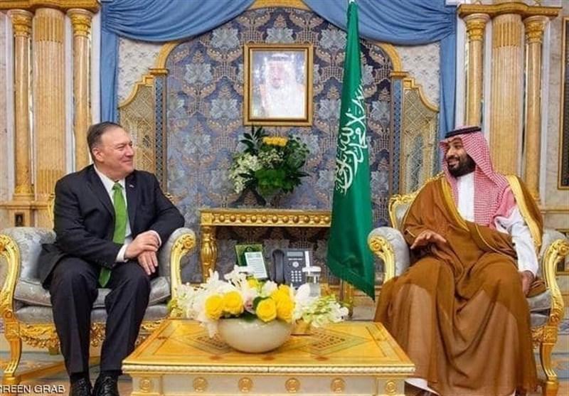 دیدار وزیر خارجه آمریکا با بن سلمان با موضوع حمله به آرامکو