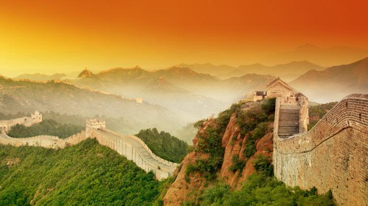 دیوار چین کجاست؟