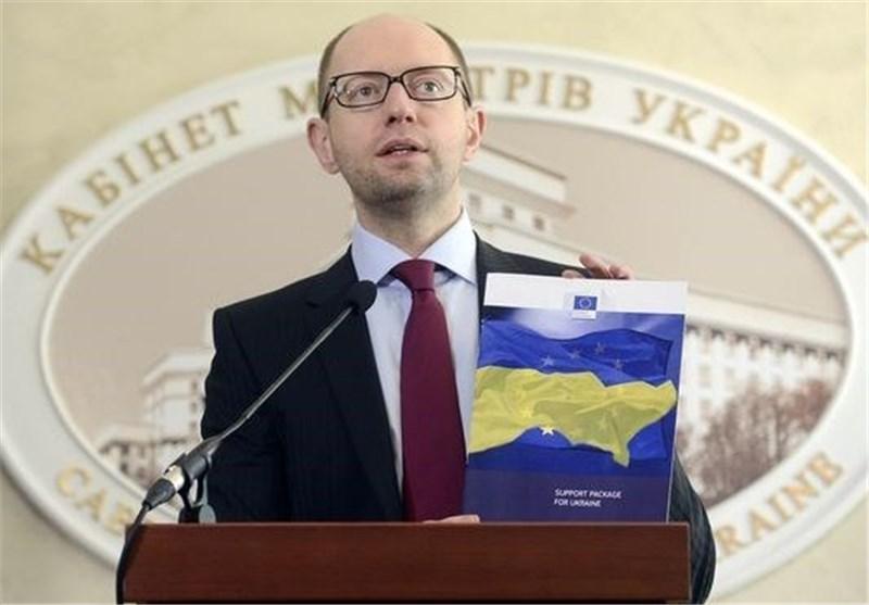 نخست وزیر اوکراین روسیه را مسئول سقوط هواپیمای خطوط مالزی دانست