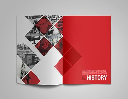 آموزش طراحی کاتالوگ و بروشور