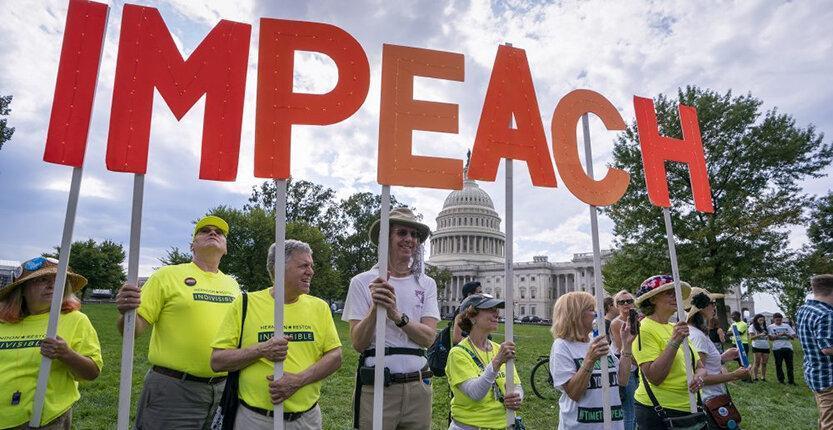 ترامپ: دمکرات ها استیضاح ام می نمایند؛ سنا حمایت