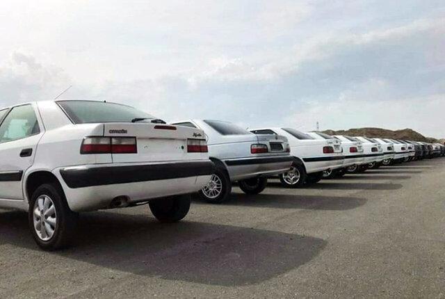 توقیف 4 خودرو شوتی در عسلویه