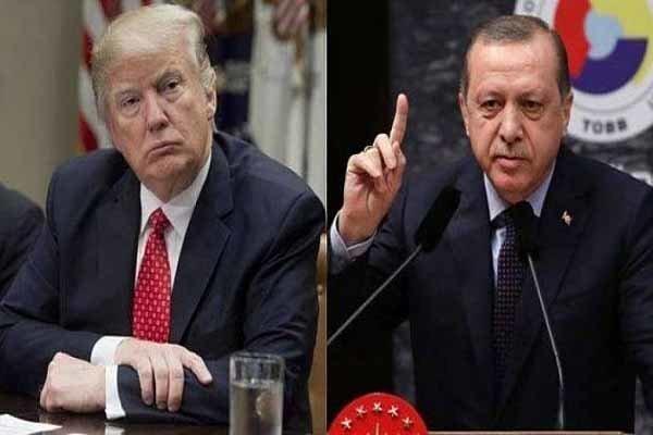 اردوغان به نامه توهین آمیز ترامپ واکنش نشان داد