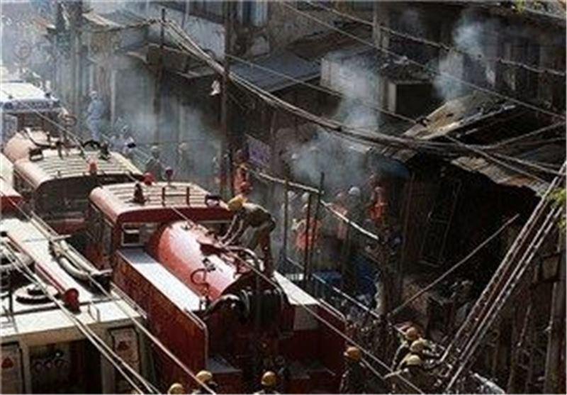 افزایش آمار تلفات آتش سوزی کلکته هند