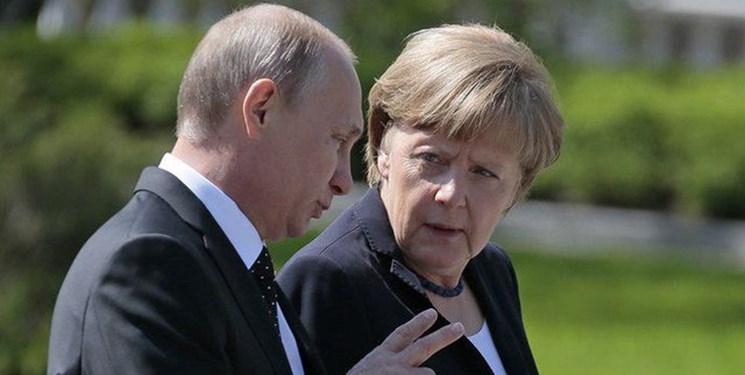 تاکید پوتین و مرکل بر ضرورت بازگشت آوارگان سوری