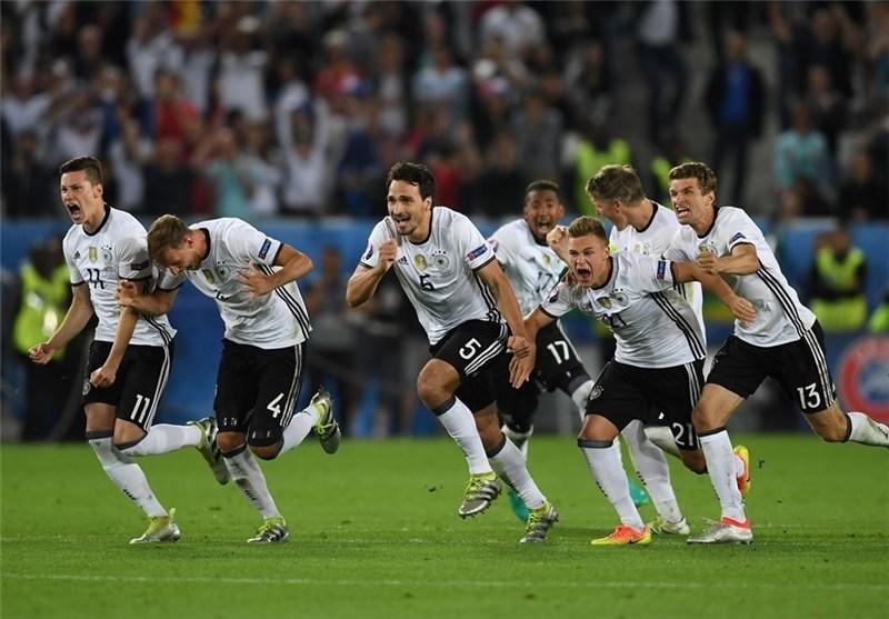 آلمان با فزونی مقابل ایتالیا در ضربات پنالتی به نیمه نهایی رسید، طلسم شکست