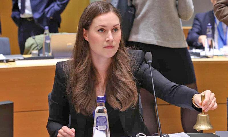 جوان ترین نخست وزیر دنیا ، بانوی 34 ساله رئیس دولت فنلاند شد