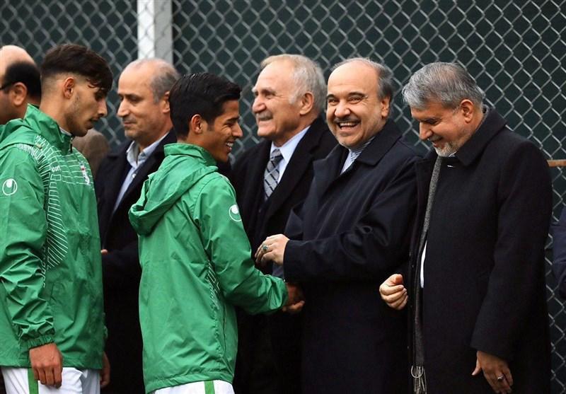 سلطانی فر در جمع بازیکنان تیم امید: باید به المپیک برویم و بدرخشیم