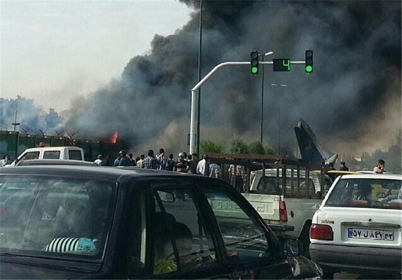 سانحه دلخراش هواپیمایی در مهرآباد