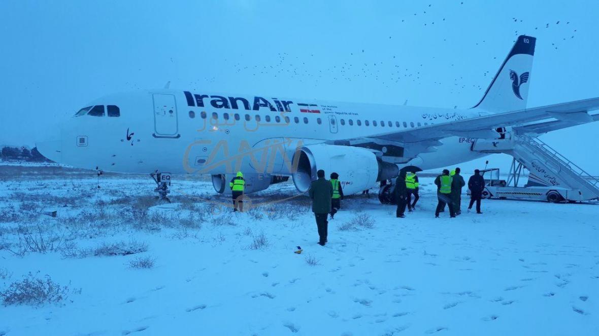 خروج یک هواپیمای دیگر از باند در کرمانشاه ، همه در سلامت کامل هستند