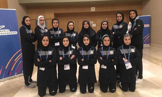 خاتمه کار دختران تکواندوکار با 7 مدال طلا و برنز در ترکیه