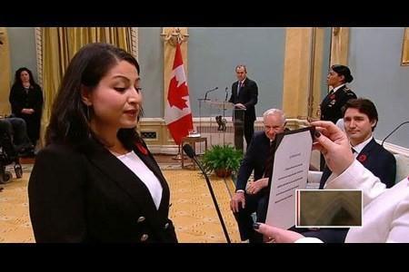 این زن افغان در کانادا وزیر شد