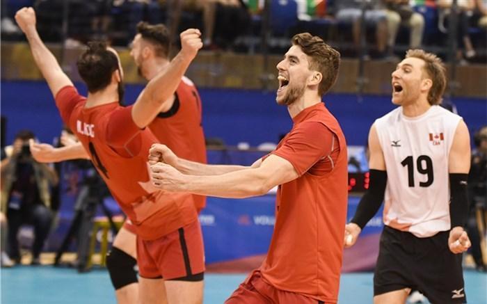 لیگ ملت های والیبال؛ کانادا صدر جدول را به لهستان داد