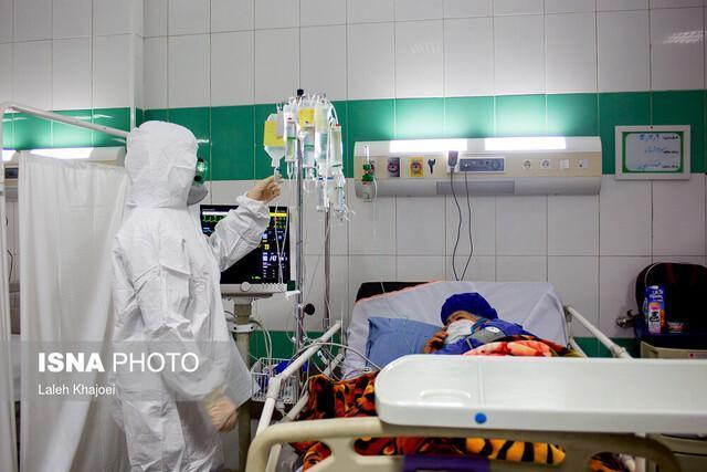 پذیرش 105 بیمار مبتلا به کرونا در بیمارستان ولیعصر رشت