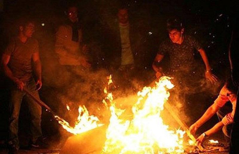 خبرنگاران چهارشنبه آخر سال با 19 حادثه آتش سوزی در کرج همراه بود