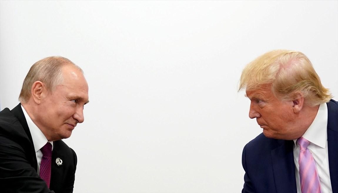 پوتین و ترامپ در خصوص قیمت نفت و کرونا مصاحبه کردند
