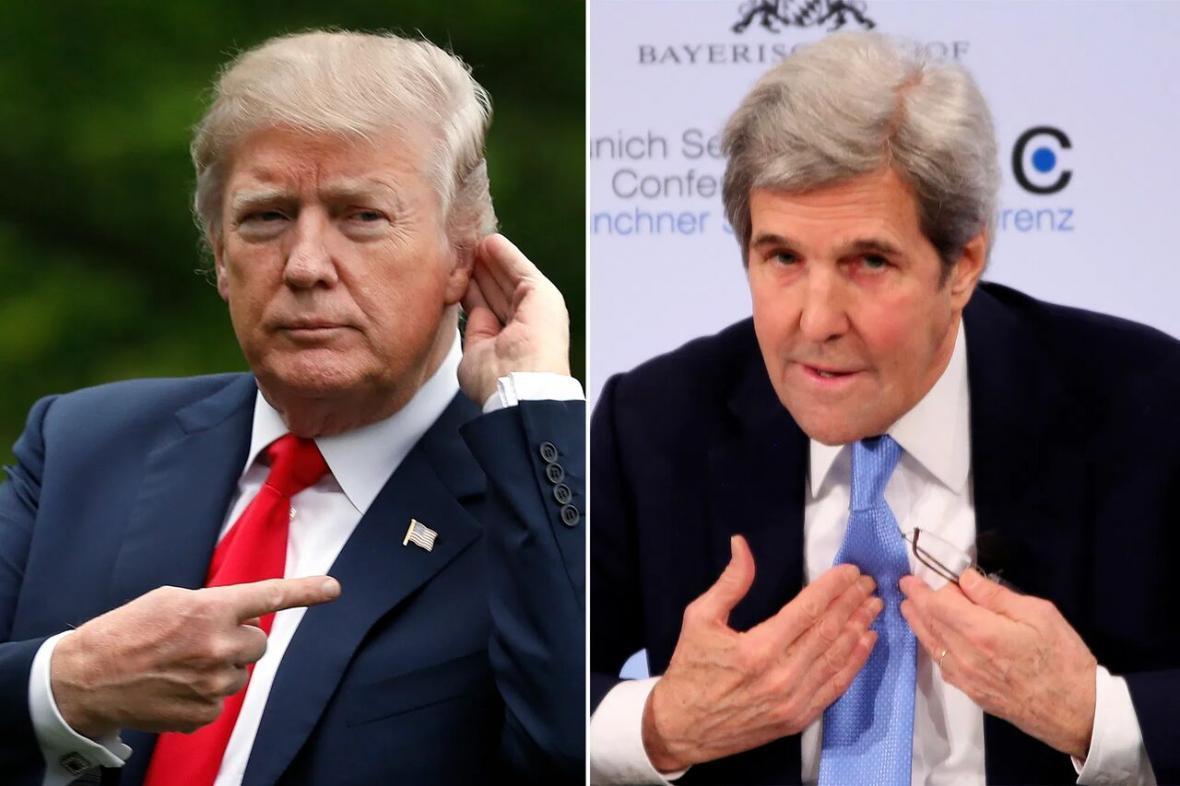 خبرنگاران ترامپ: جان کری نمی خواهد ایران توافق دیگری داشته باشد