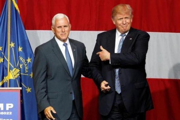 کاخ سفید: پنس تصمیم گرفته است مدتی از ترامپ فاصله بگیرد