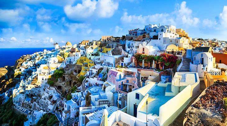 در جزیره زیبای سنتورینی یونان عاشق شوید!، تصاویر