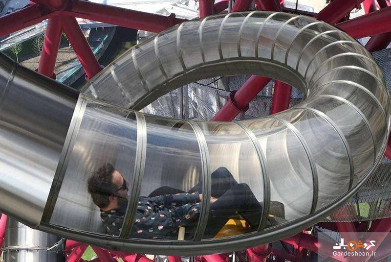 طولانی ترین سرسره تونلی دنیا در لندن