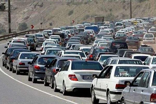 ترافیک سنگین در تمام ورودی های مازندران ، کندوان یک طرفه شد