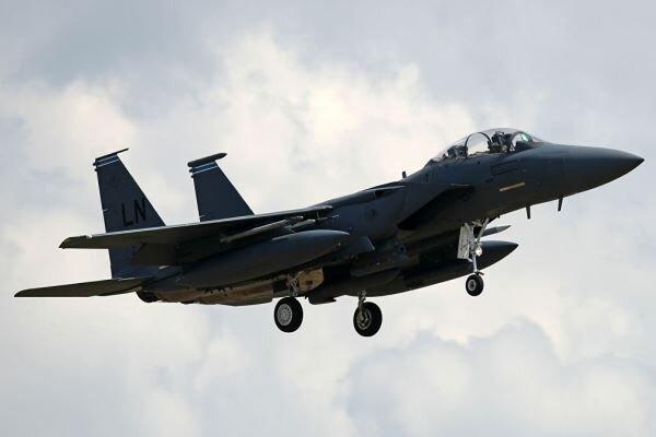 نیروی هوایی آمریکا مرگِ خلبان جنگنده اف-15 را تأیید کرد