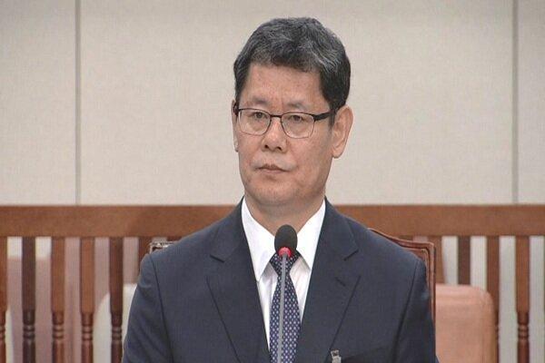 وزیر اتحاد کره جنوبی کناره گیری کرد