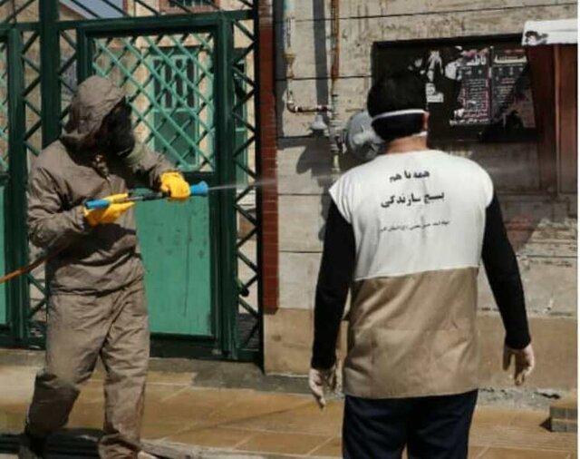 گروه های جهادی همچون رزمندگان دفاع مقدس حماسه آفرین اند