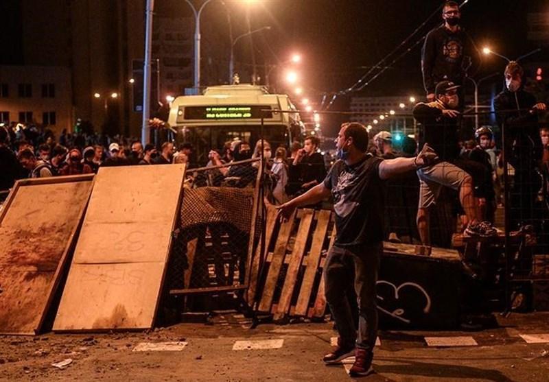 اعتراضات مردم بلاروس به مسکو و لندن هم کشیده شد