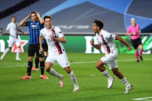 صعود شیرین پاری سن ژرمن به نیمه نهایی لیگ قهرمانان اروپا