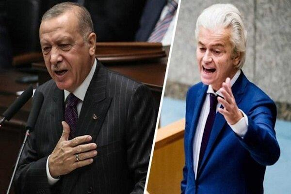 رهبر حزب آزادی هلند به جنگ اردوغان رفت