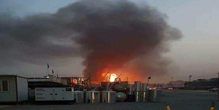 شنیده شدن صدای انفجار مهیب در بغداد