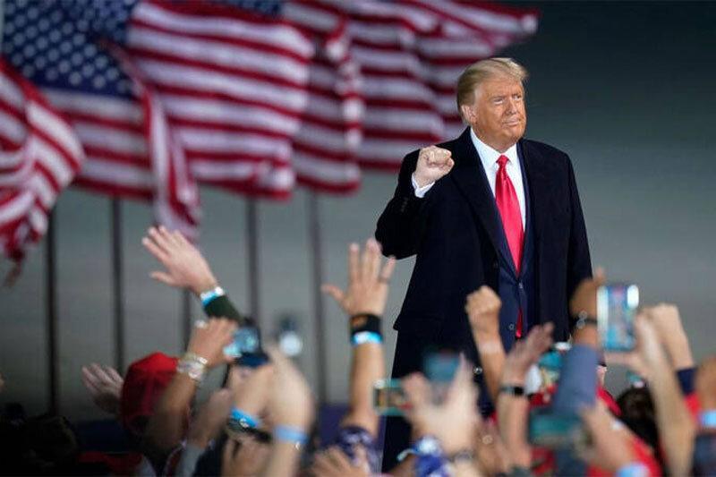 اگر ترامپ ببازد، ممکن است در انتخابات ریاست جمهوری 2024 شرکت کند