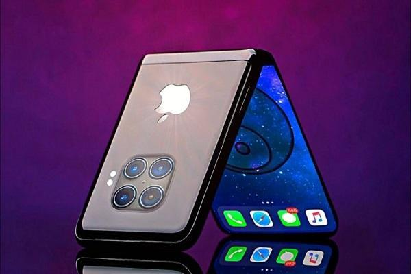طراحی مثال زدنی اپل برای لولای آیفون تاشو