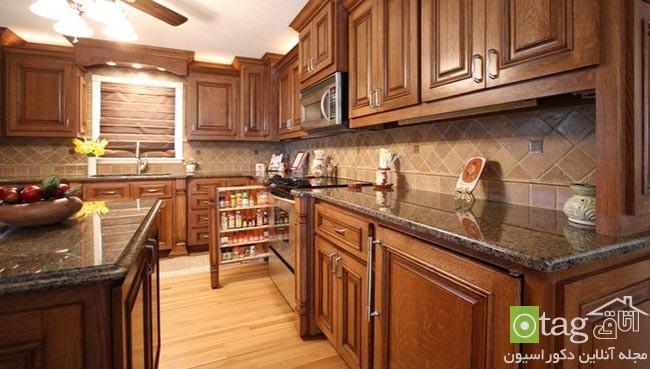 کابینت چوبی آشپزخانه در مدل های بسیار شیک مدرن و کلاسیک
