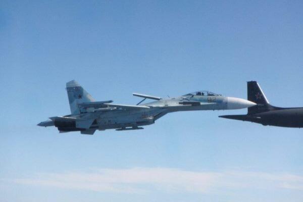 جنگنده های روسیه هواپیماهای نظامی فرانسوی را رهگیری کردند