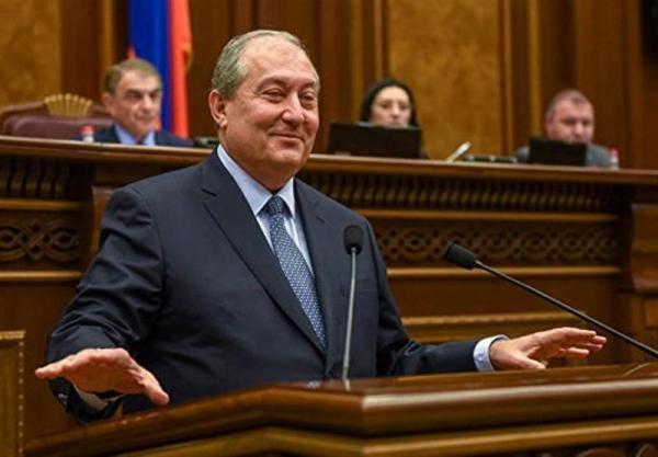 ملاقات رئیس جمهوری ارمنستان با رئیس ستادکل نیروهای مسلح