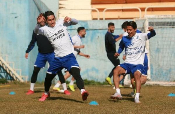 آخرین تمرین استقلال پیش از بازی با سپاهان برگزار گردید