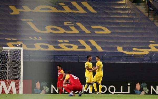 رئیس هیات مدیره باشگاه النصر عربستان علیه تراکتور ایران