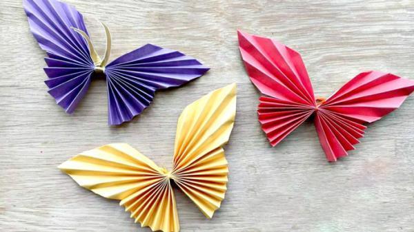 ایده های متنوع و جذاب برای درست کردن کاردستی پروانه